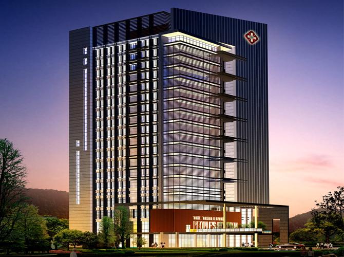 重庆市第十三人民医院住院综合大楼